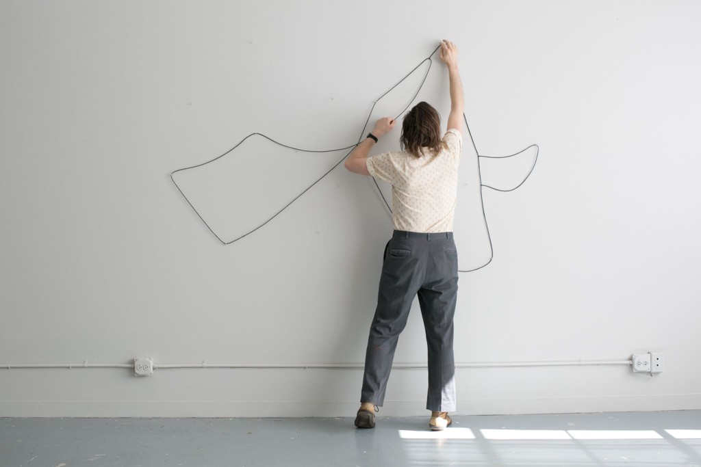 Hanging Drawing, 2015 (as above)